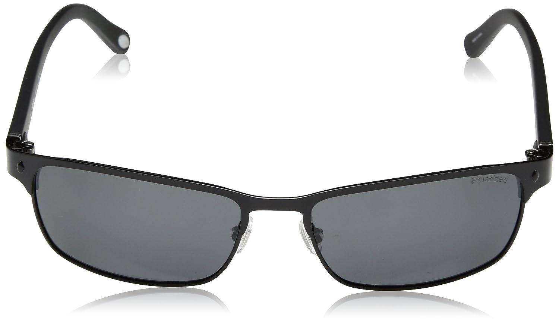 f09670c08f Amazon.com  Fossil Fos3000p Ef8p Neuta Wrap Sunglasses - Black  Sports    Outdoors