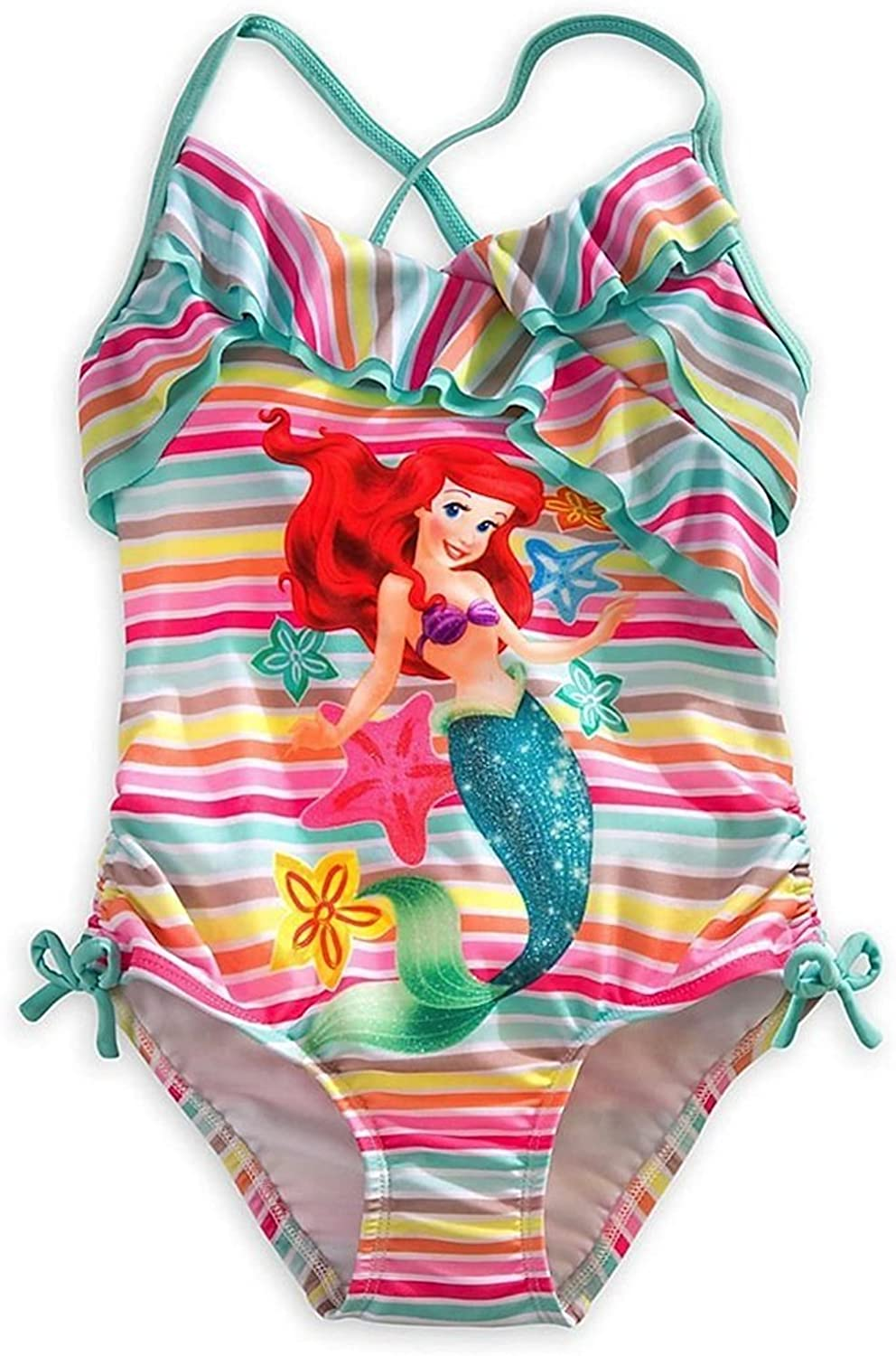 Disney The Little Mermaid Girls Ariel Swimsuit