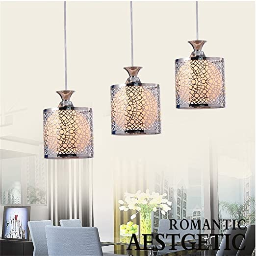 Homelava modern round black small bubble pattern glass 3 lights pendant lights ceiling lights