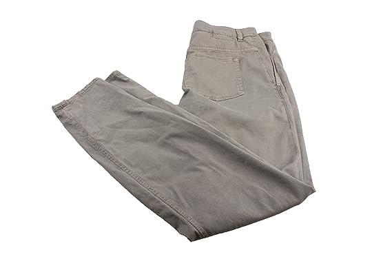 5e49ff9c6e1f Drykorn Damen Hose Stoffhose Chinos Gr: 34 grau: Amazon.de: Bekleidung