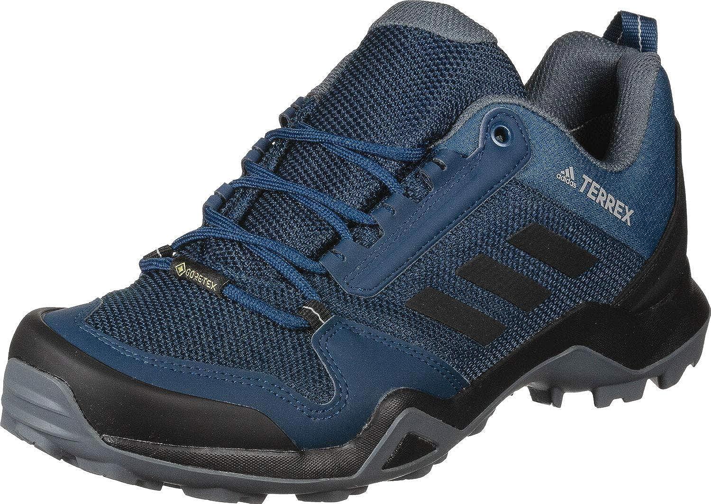 Bleu marine noir noir gris adidas Performance - AX3 Gore-Tex Hommes Chaussures de randonnée (Bleu)  édition limitée chaude