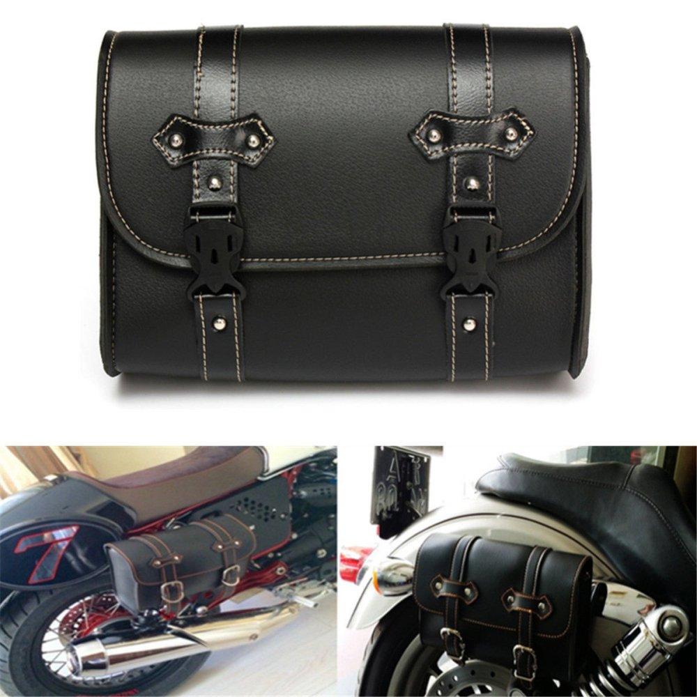 LEAGUE&CO Universal Motorradtasche Gepä cktaschen Werkzeugtasche Satteltasche Tasche fü r Harley Yamaha Honda (1) 12203