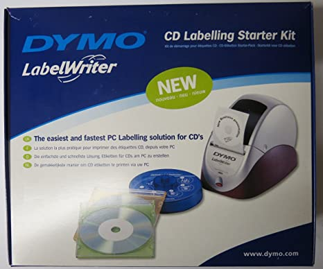 DYMO LabelWriter CD/DVD Labels - Kit para impresoras: Amazon ...