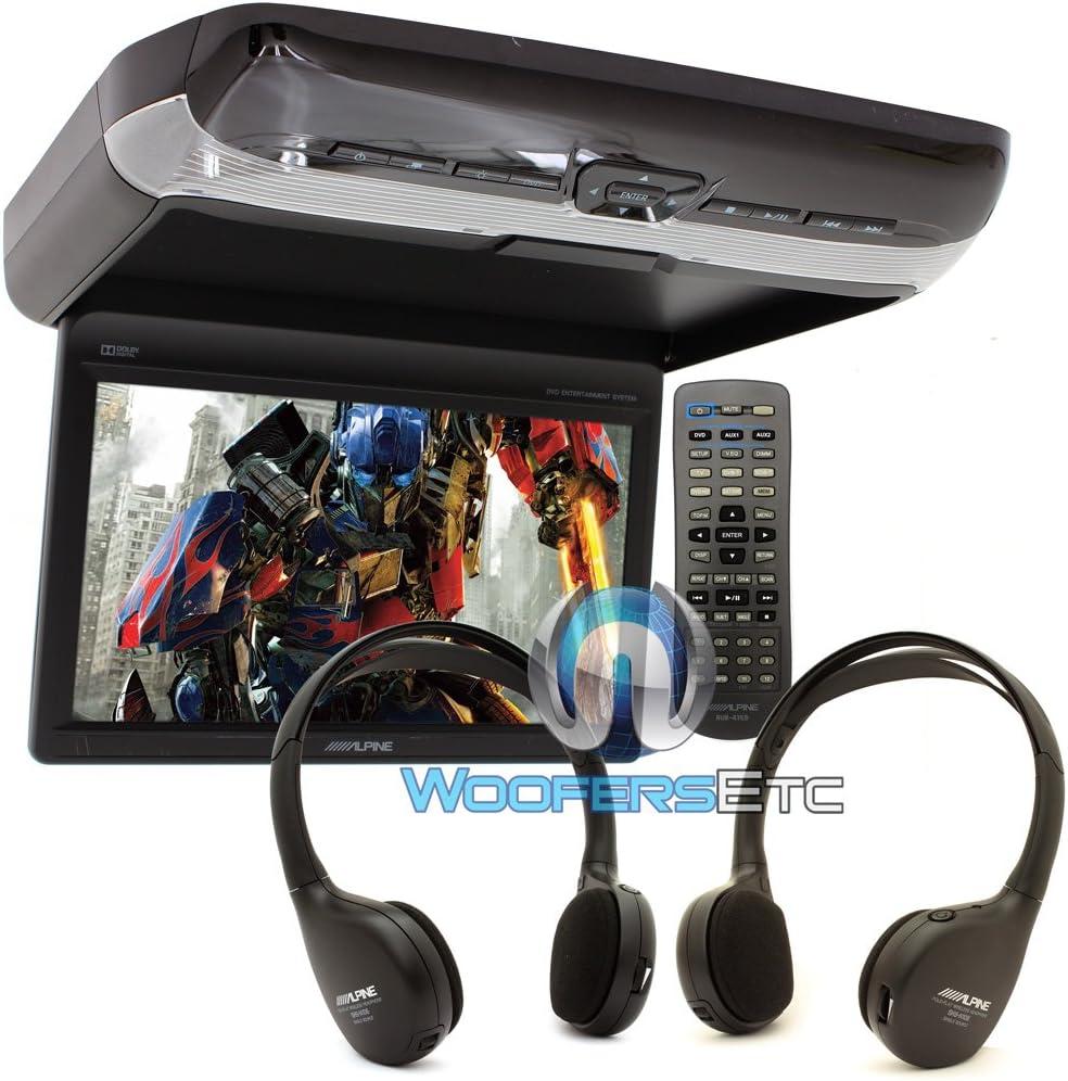 Alpine PKG-RSE3DVD 10.2 Monitor with Built-in DVD