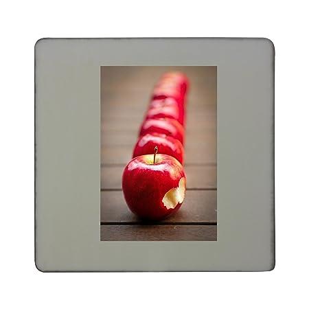 Imán para nevera cuadrado de Apples, Fruit, Rojo, Jugy Hardboard ...