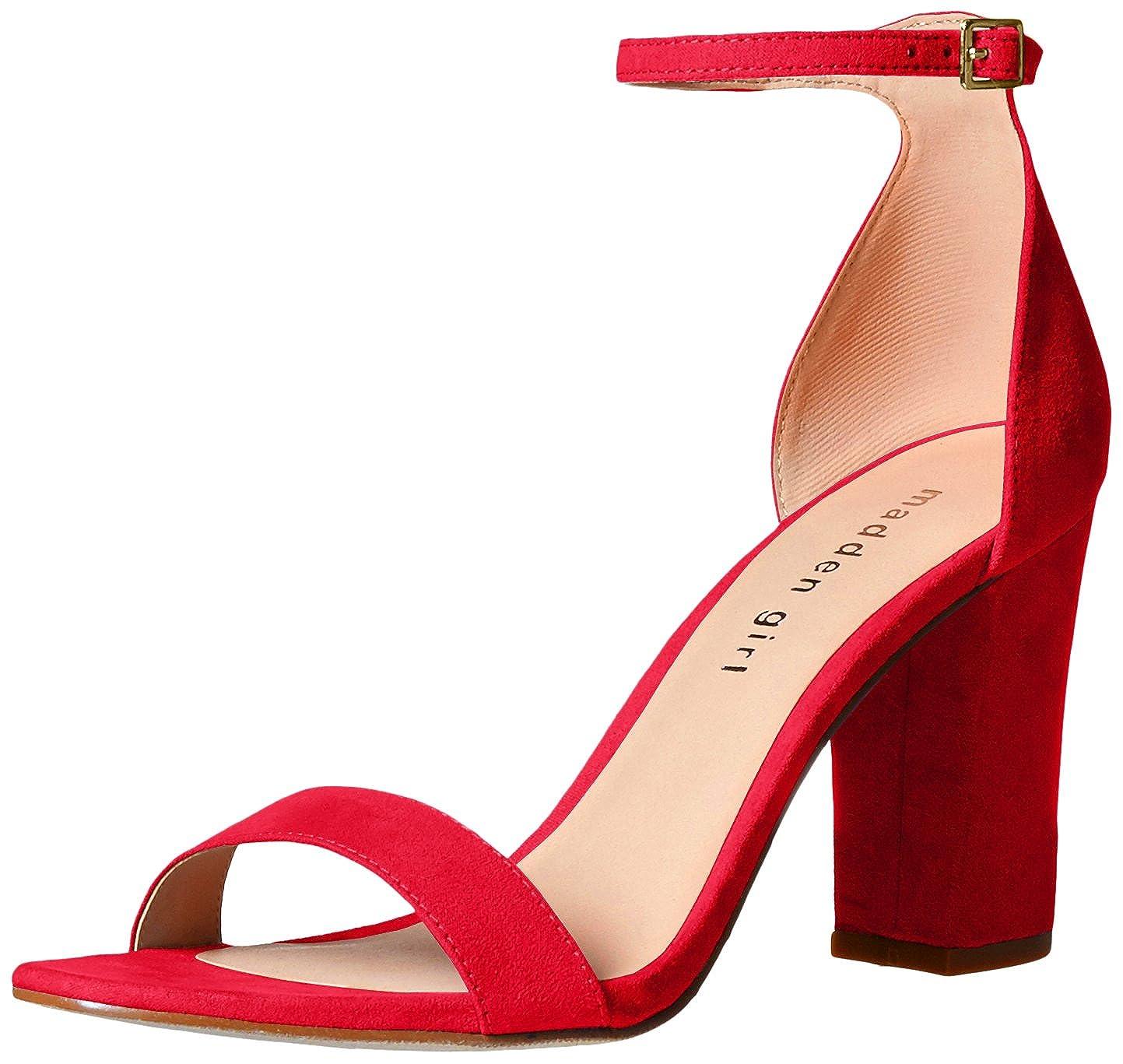 830f809ca2f4 Amazon.com  Madden Girl Women s BEELLA Heeled Sandal