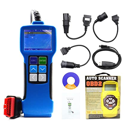 Truck Diagnostic Tool T71 Universal Diesel Heavy Duty Code Reader V24 For  Bus and Heavy Truck Diagnostic Scanner Tool For