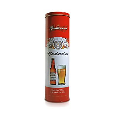 Budweiser and glass gift tube amazon grocery budweiser and glass gift tube negle Gallery