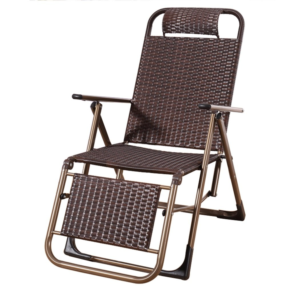 H-WJ Mode Faltende Recliner-Schwerkraft-stützende Garten-Sonnenliege-Stühle Sitz