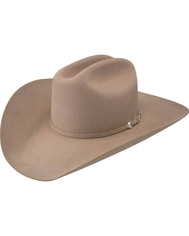 Resistol Men's Arena 40X Fur Felt Cowboy Hat Medium Brown 7 3/8