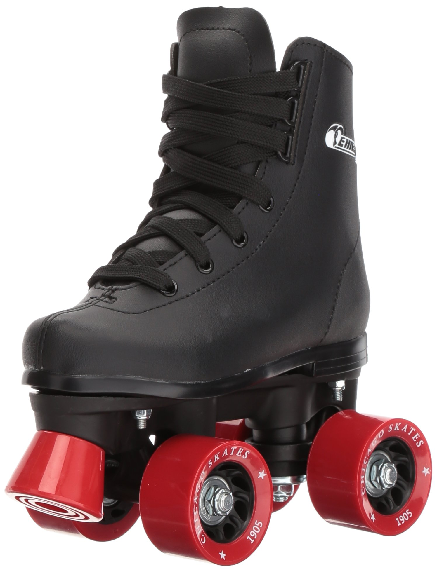 Chicago Boys Rink Roller Skate (Size 3), Black by Chicago Skates