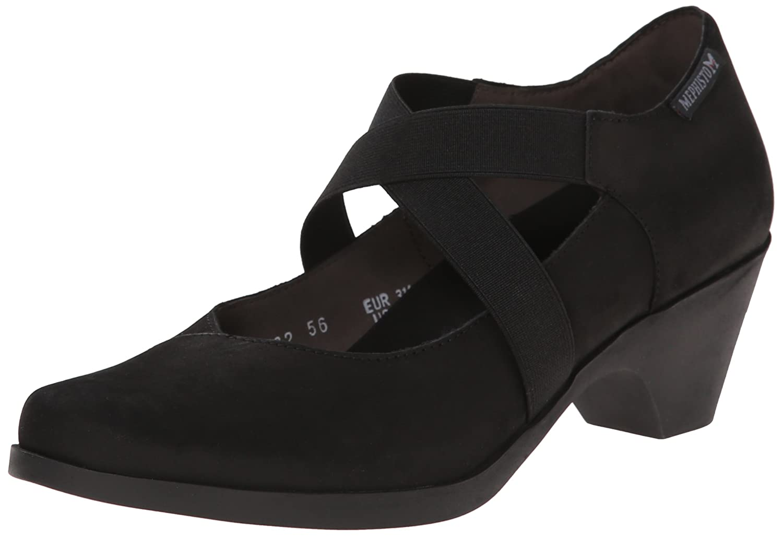 Amazon.com | Mephisto Women's Margaret Dress Pump, Black Bucksoft, 10 M US  | Pumps