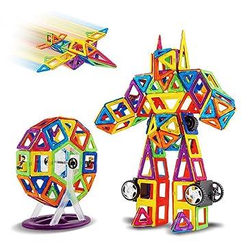 OOFAY Niños Juguetes Magnéticos Tejas Magnéticas del ...