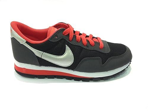 big sale 08273 2e020 Nike Metro Plus (GS), Scarpe da Running Bambino, NeroArgento-