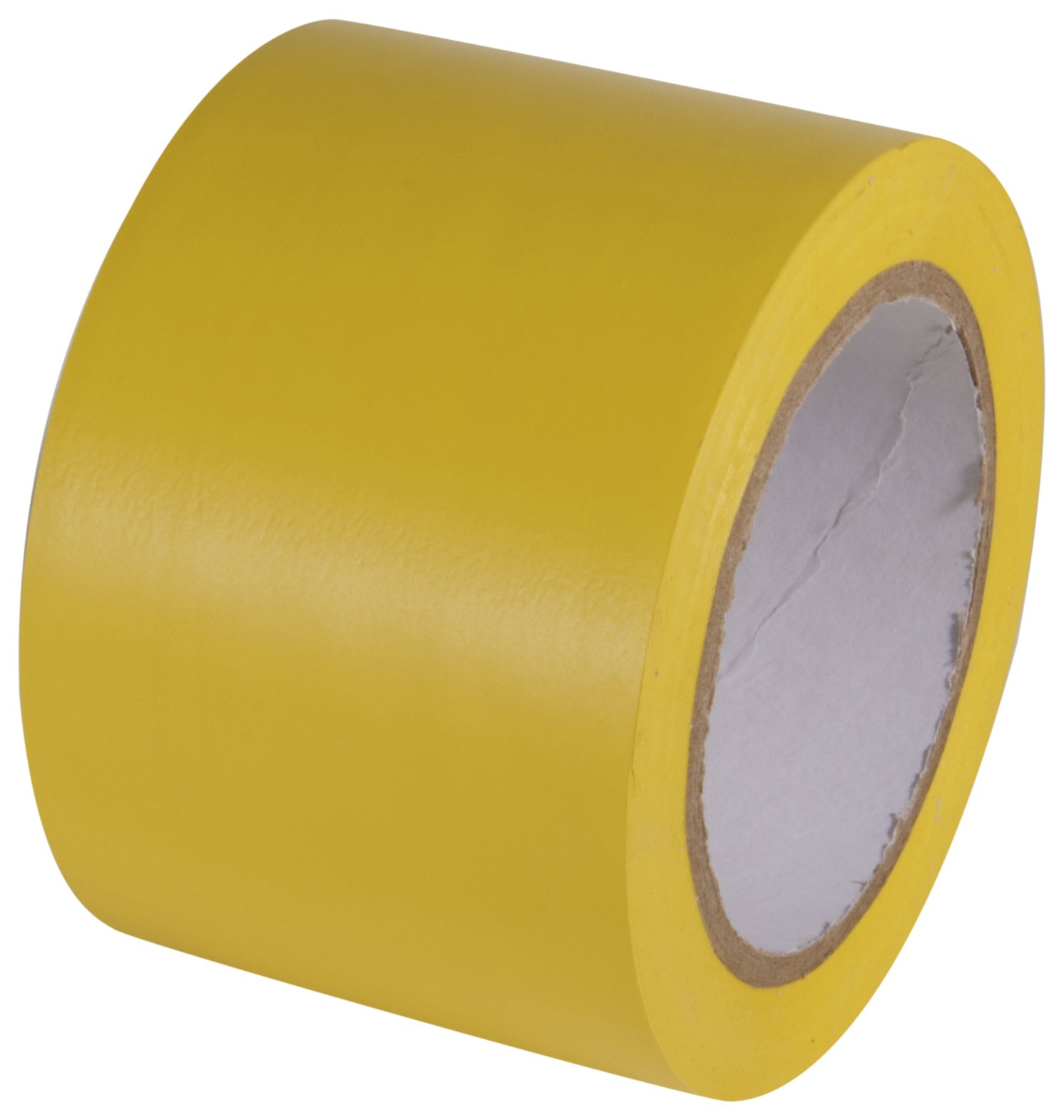INCOM Manufacturing: Vinyl Aisle Marking Conformable Tape, 3'' x 180', Safety Yellow- Ideal for Walls, Floors, Equipment