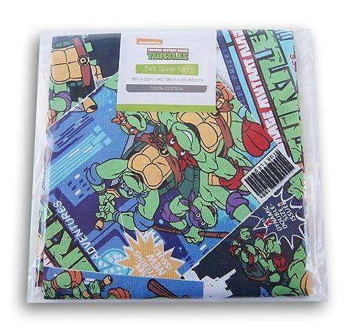 Viacom Teenage Mutant Ninja Turtles Fat Quarter (18 x 22 ...