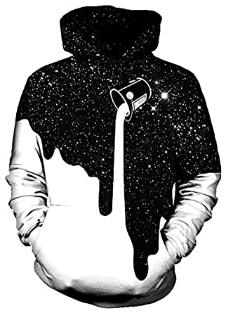On Cue Apparel Dripping Space Hoodie - Premium All Over
