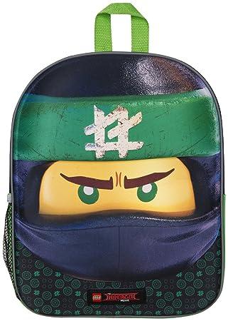 Mochila 3D Lego Ninjago Green Ninja para Niños Escuela Viaje ...