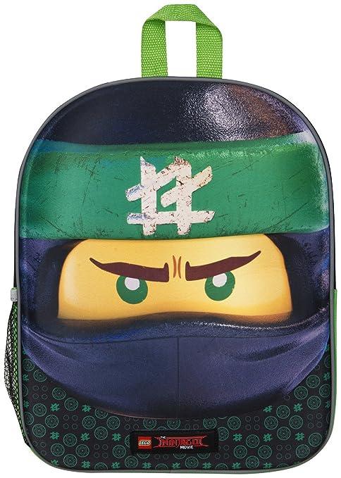 9e77c2a360 Zaino Scuola 3D Lego Ninjago per Bambini Zainetto da Viaggio Bambino ...