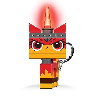 IQ KE147 The Lego Movie 2 Angry Kitty Minifigure LED Key Light Keychain for Boys Girls Kids Adults: Toys & Games