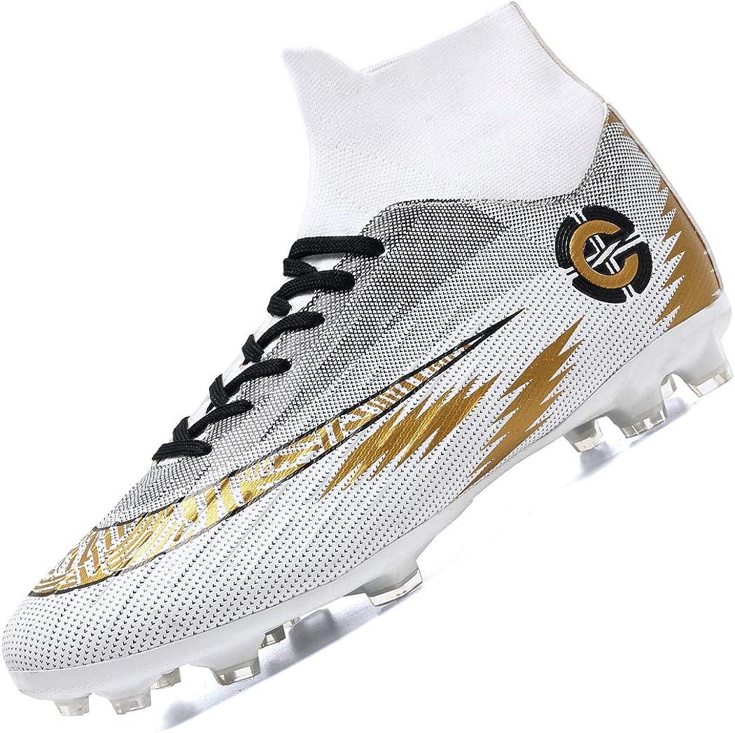 Donbest Botas de Fútbol para Hombre Spike Zapatillas de Fútbol Profesionales Atletismo Training Zapatos de Fútbol: Amazon.es: Zapatos y complementos