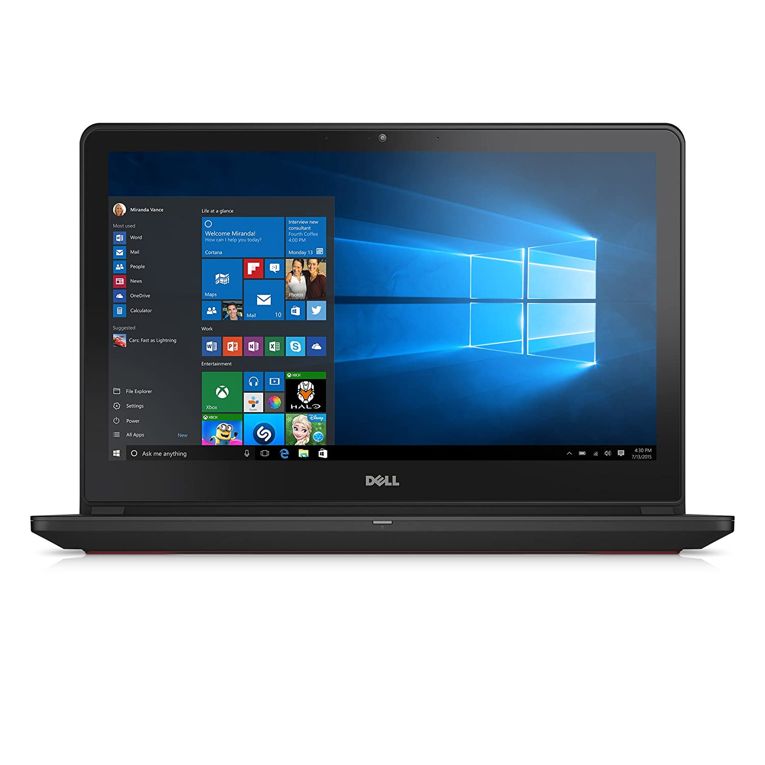 Dell Inspiron i7559-2512BLK 15.6 Inch FHD Laptop (6th Generation Intel...