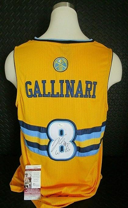 new style 93ec6 22988 Danilo Gallinari Gallo Denver Nuggets Autographed Signed ...