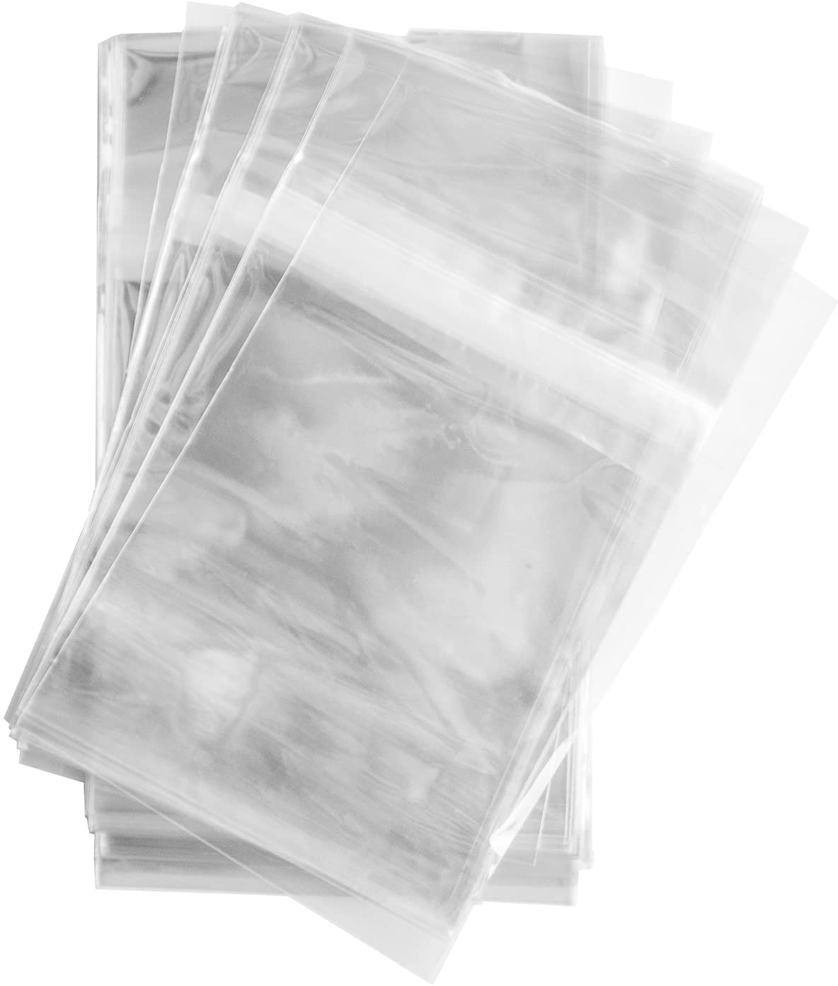 200 Pcs 7 3//8 x 10 1//2 Resealable COMIC BOOK sleeves bags Tape on Bag
