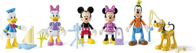 Casa club Mickey Mouse - 181854 - Modelo aleatorio - Tema de aventuras - Paquete de 1 figura articula. , Modelos/colores Surtidos, 1 Unidad