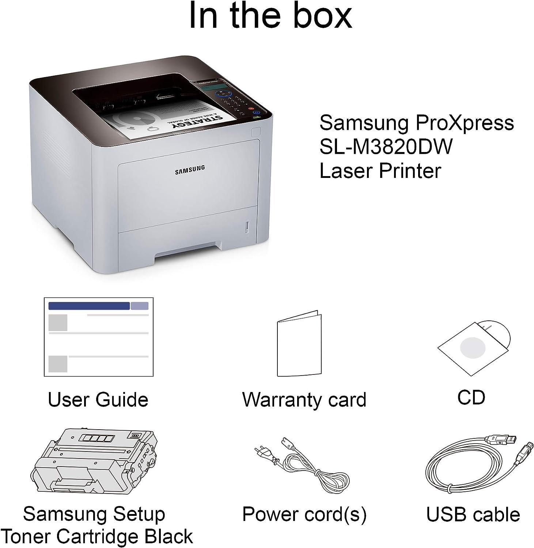 Amazon.com: Samsung ProXpress M3820DW Impresora láser ...