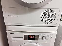 wpro sks100 waschmaschinenzubeh r zwischenbaurahmen mit ablage. Black Bedroom Furniture Sets. Home Design Ideas