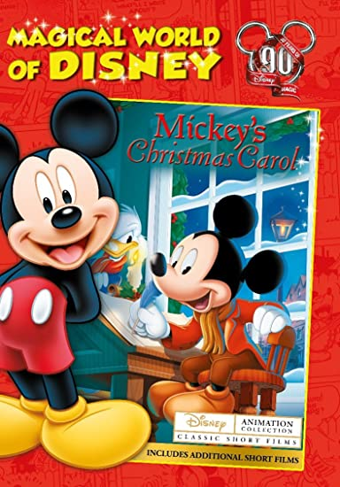 magical world of disney mickeys christmas carol - Mickeys Christmas Carol Blu Ray