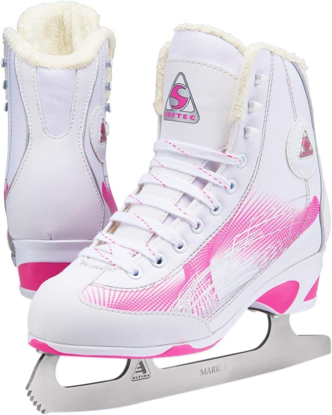 Jackson Ultima Figure Skates - Rave レディース RV2000 ピンク 幅 ミディアム  Adult Medium 7