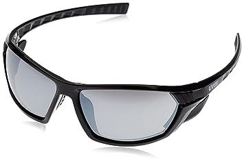 02b2244dbf0b90 Uvex Sportstyle 307 Lunettes de vélo Noir Transparent litemirror Silver
