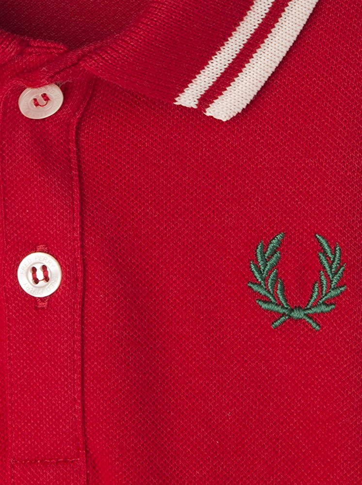 Fred Perry Polo Rojo 12-18 Meses (80/86): Amazon.es: Ropa y accesorios