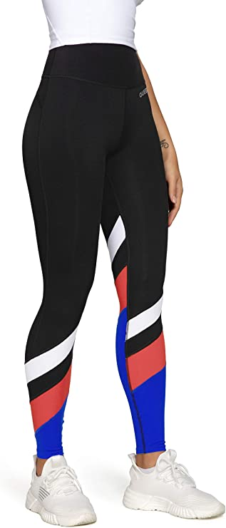 QUEENIEKE Women Yoga Leggings Buttery Soft Seamless and High Waisted Running Pants Workout Tights 60129B