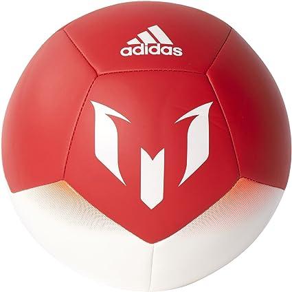 adidas Q1 Mini Balón de Fútbol Línea Messi, Hombre, (Blanco/Rojo ...