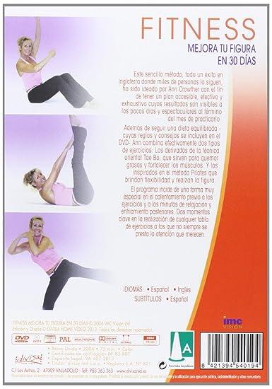 Fitness: Mejora tu figura en 30 días [DVD]: Amazon.es: Cine y ...