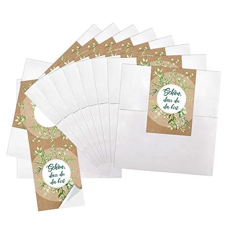 Logbuch-Verlag - Mini bolsas de papel blancas de 13 x 18 cm ...