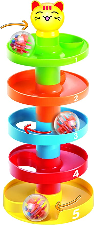 Multi-Color Wooden Small Ball Game Toy Set for Kids Early Development