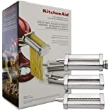 KitchenAid Pasta Roller & Cutter Attachment Set (With Stand)