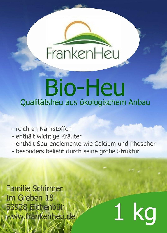 1 Ballen Bio-Heu (ca. 9-10 kg) - Qualitätsheu FrankenHeu