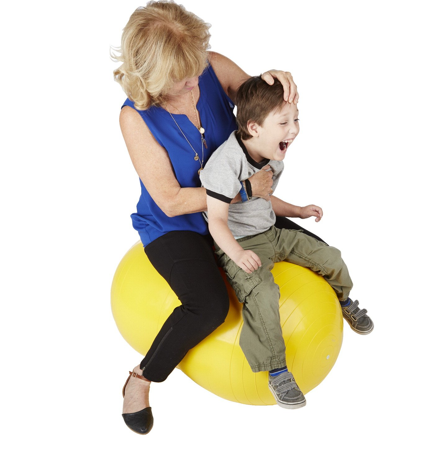 Sportime Physio Roll Exercise Therapy Fitness Ball – 12 Inches – Blue