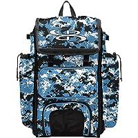 "Boombah Catcher's Superpack Bat Bag Camo - 23-1/2"" x 13-1/2"" x 9-1/2"" - Multiple Colors - Holds 4 Bats - Backpack…"