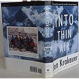 By Jon Krakauer: Into Thin Air