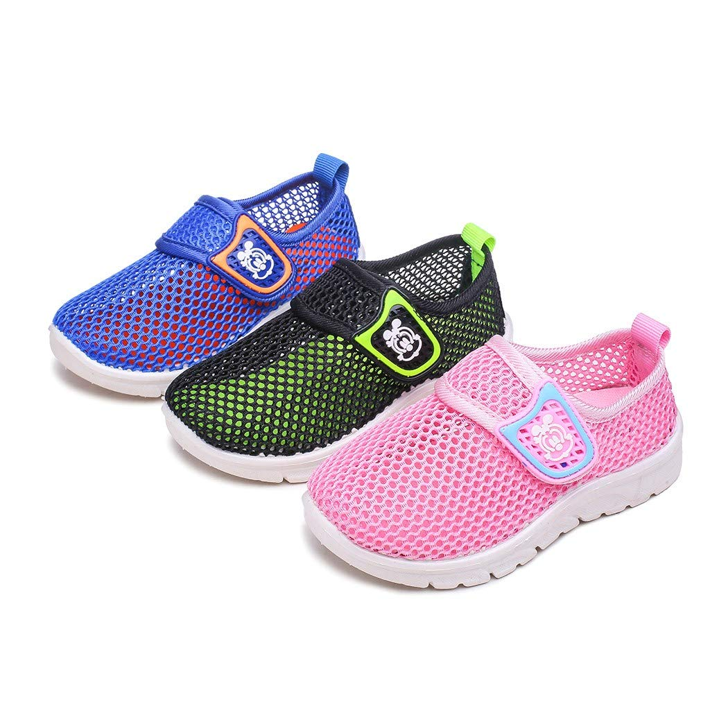 Toddler Kids Baby Boys Girls Mesh Cartoon Sneakers Sport Run Casual Shoes by VEZAD (Image #5)
