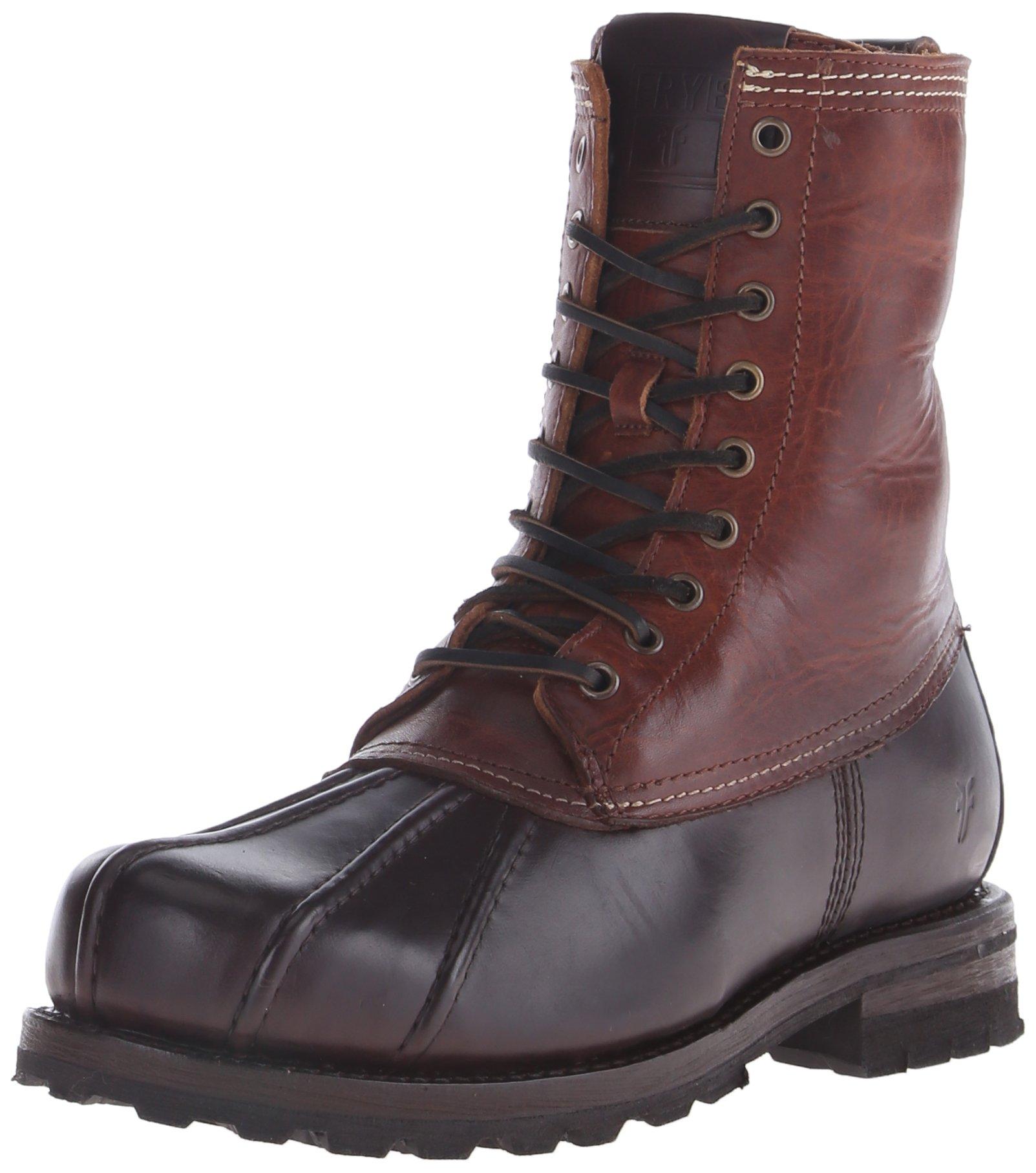 FRYE Men's Warren Duck Boot, Espresso/Multi, 10 M US