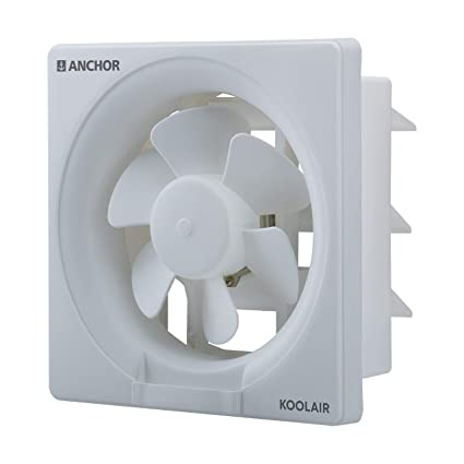 Buy Anchor By Panasonic Koolair 150mm Ventilation Exhaust Fan For Home Office Kitchen And Bathroom White Online At Low Prices In India Amazon In
