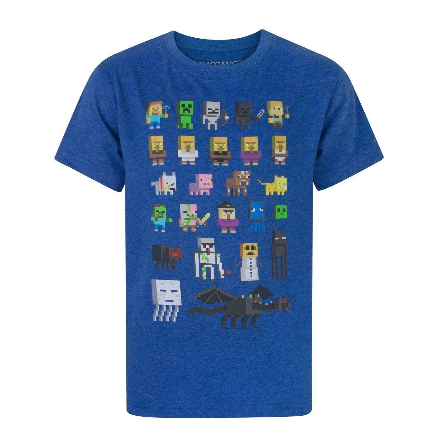 Minecraft Sprites Boy's T-Shirt Fashion UK