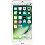 iPhone7 ガラスフィルム iPhone6s iPhone6 保護フィルム ムーミン 強化ガラス 0.33mm / ムーミンフレンズ / フラワーライン